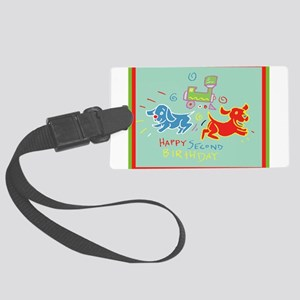 2nd-Birthday-10-[Converted] Large Luggage Tag